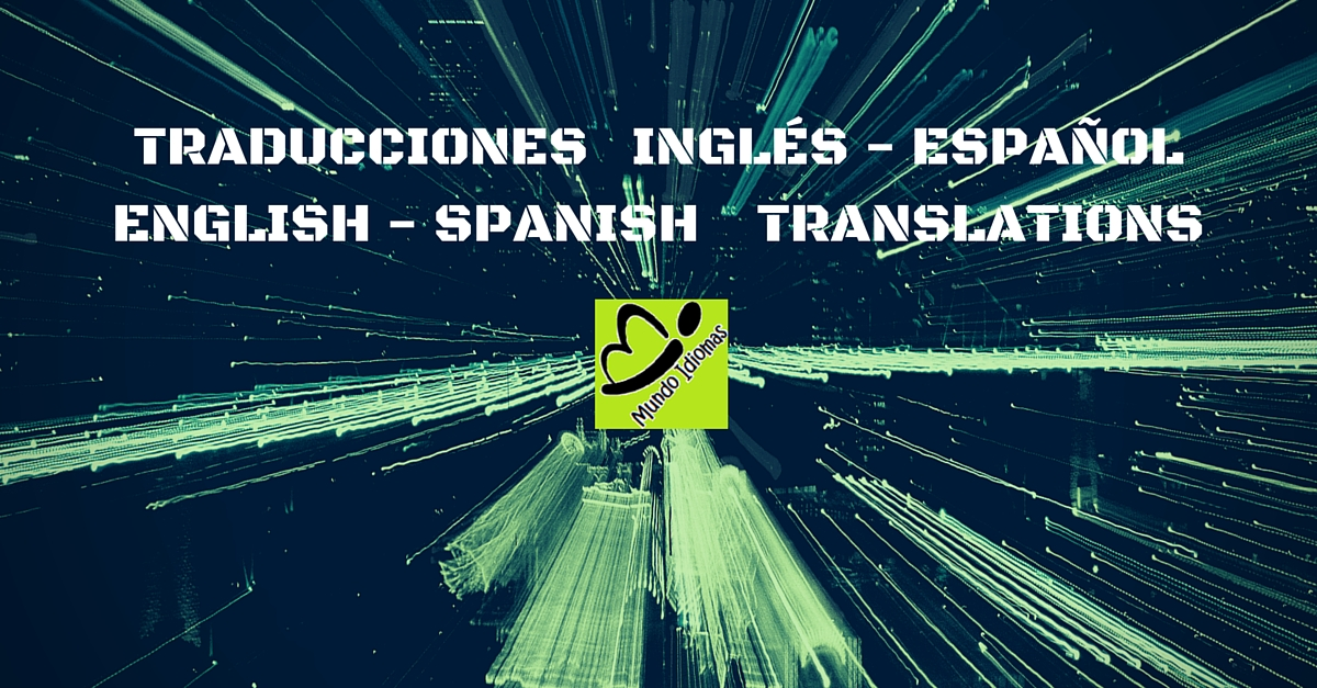 English Spanish words and phrases. Palabras y frases en Castellano e ...