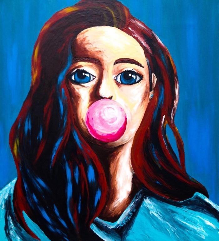 Женщины со всего мира. Греческий художник. Christina Bilbili