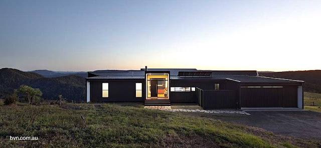 Casa residencial australiana de diseño sustentable