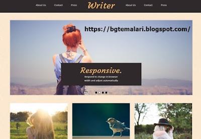 Writer Responsive Blogger