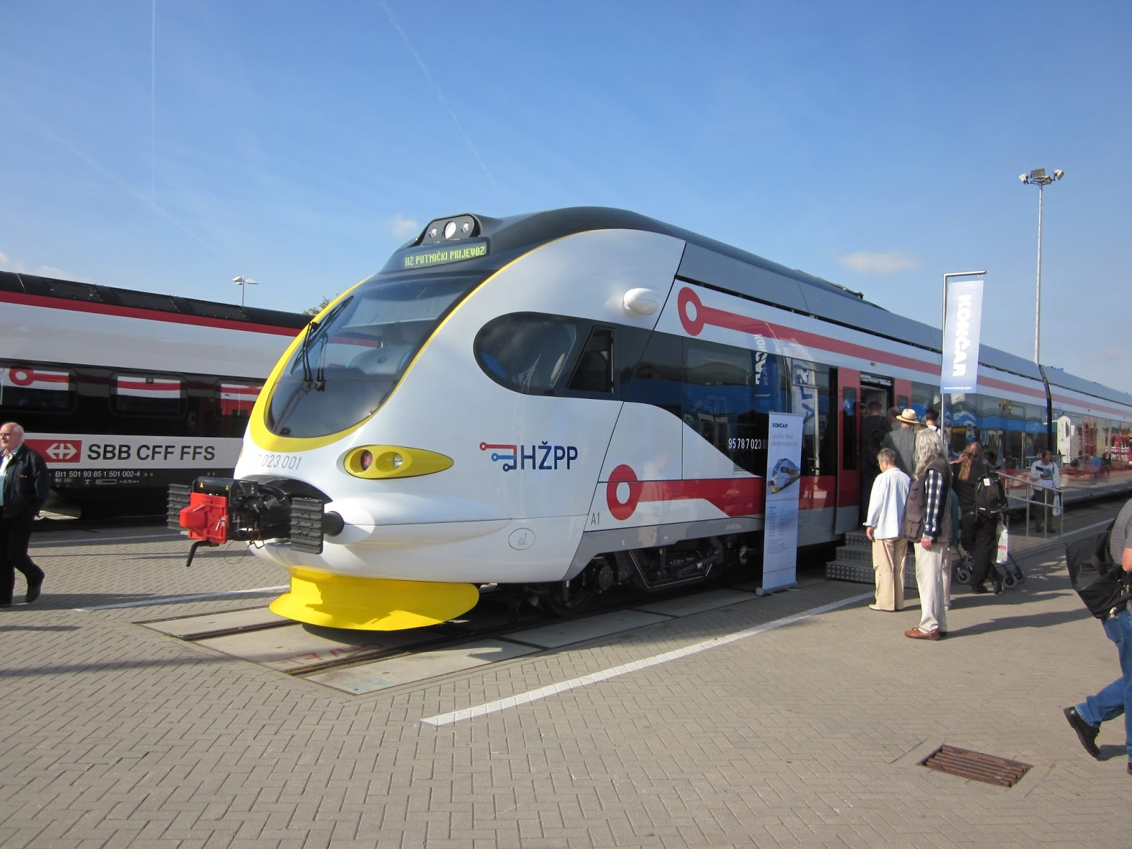 The silent hunter berlin railyard innotrans 2016 this is actually a polish built unit the first to get certification to run in germany and i would ride in one later on my trip xflitez Gallery