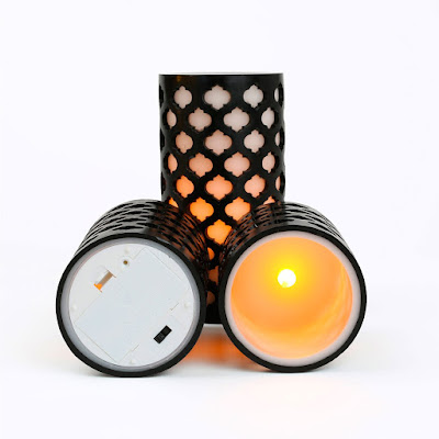 LED Moroccan style candles