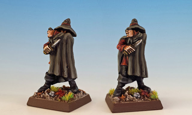 Grimwald Calaco, painted miniature for Terror of the Lichemaster
