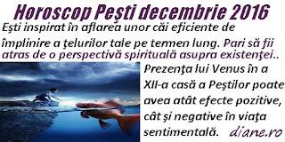 Horoscop decembrie 2016 Peşti