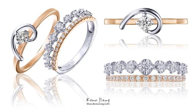 [商業攝影] | 商攝 | 戒指 | 婚禮 | 訂婚戒指 | @鎮金店