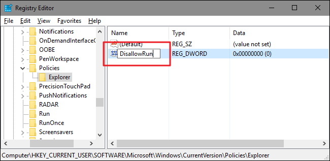 Allow or Deny Certain Applications in Windows