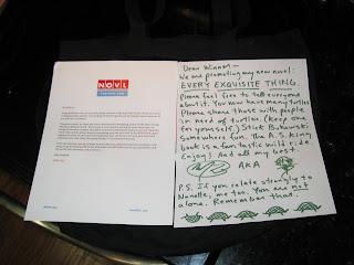 April 2016 NOVL box