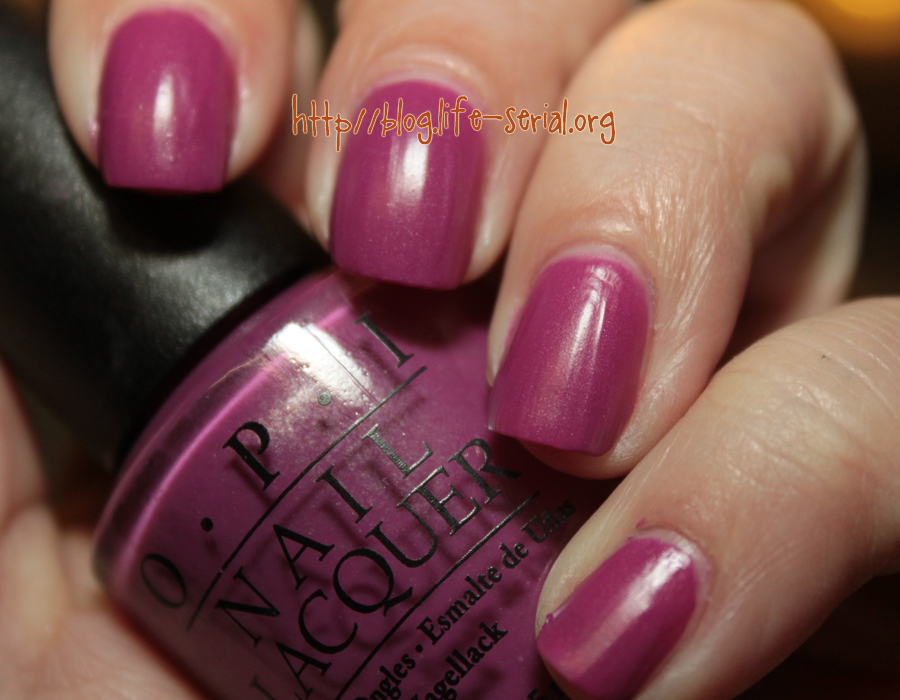 The one with OPI My Auntie Drinks Chianti! | Confessions of a ...