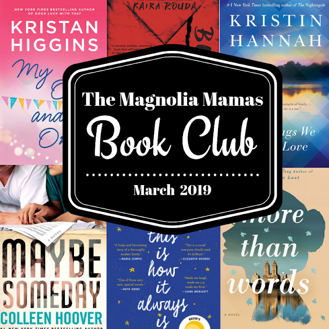 March Book Club Pick & Reviews by The Magnolia Mamas
