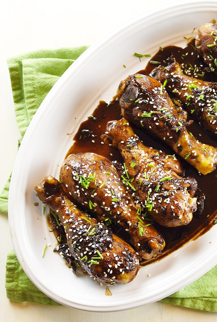 Teriyaki Chicken Drumsticks from Bubbly Nature Creations