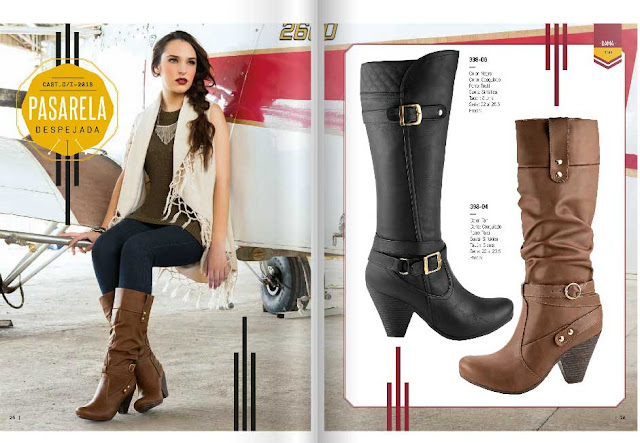 Catalogo de zapatos castalia otoño invierno 206