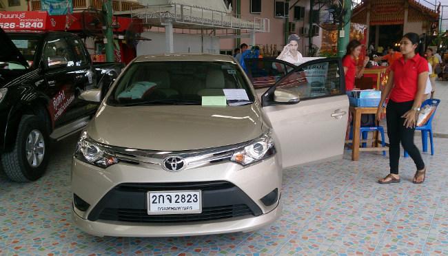 Автосалон поддержанных машин в Таиланде