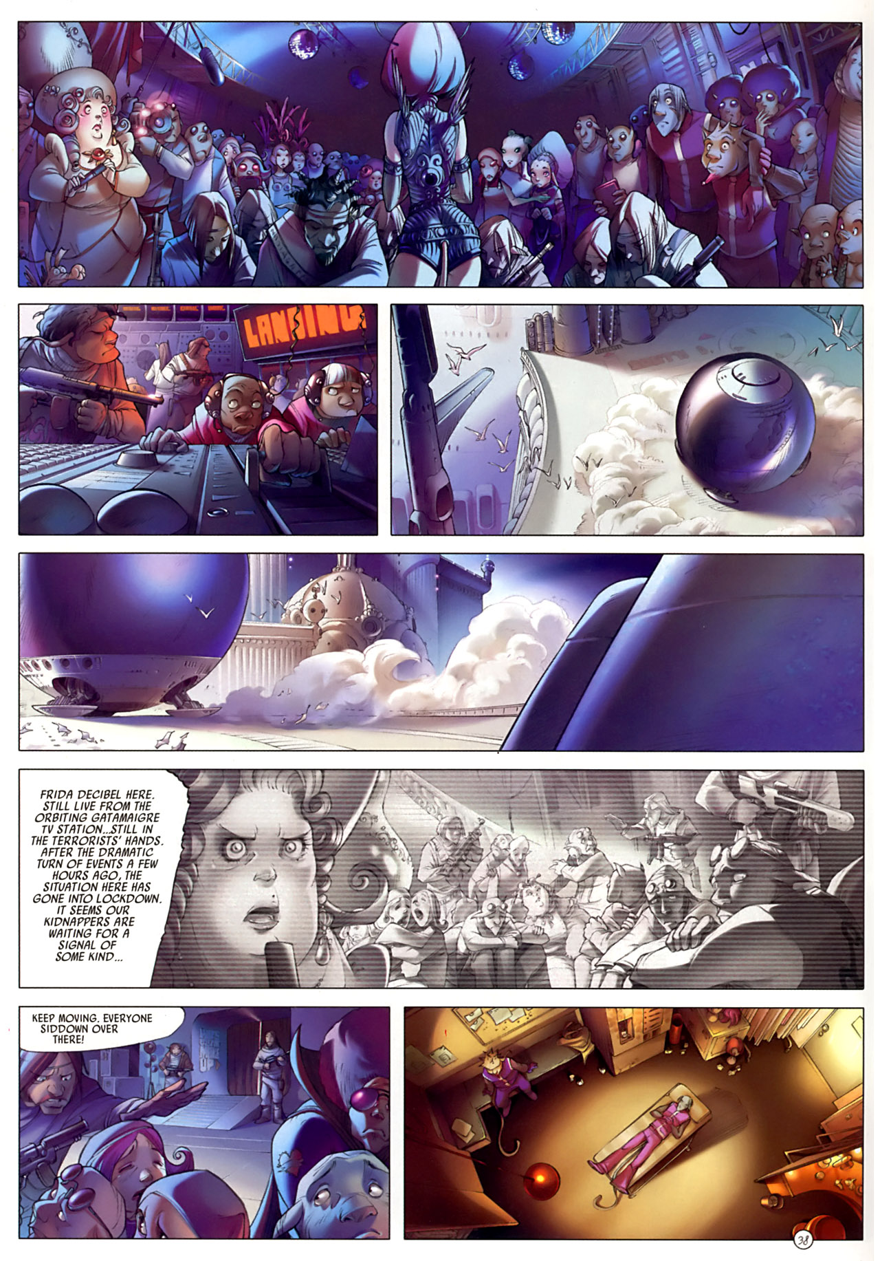 Read online Sky Doll comic -  Issue #3 - 42