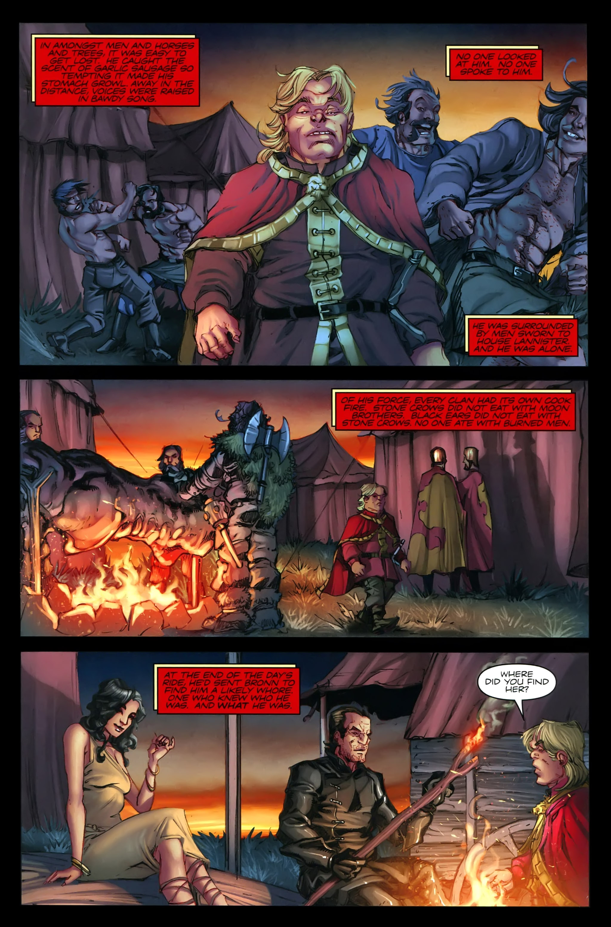 Read online A Game Of Thrones comic -  Issue #21 - 5