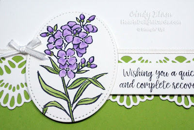 Heart's Delight Cards, Southern Serenade, Healing Hugs, Stampin' Up!