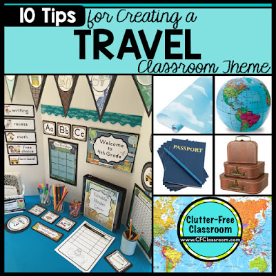 travel themed classroom ideas printable classroom decorations