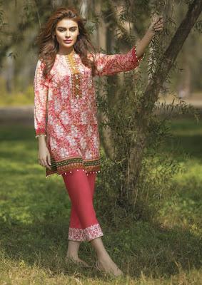 Alkaram Summer Embroidered Dresses 2017 Collection