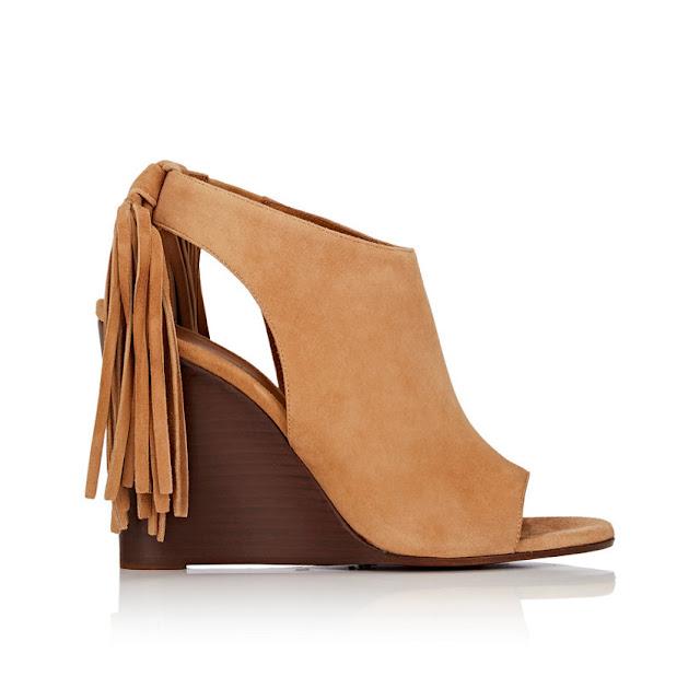 Chloé fringe sandals