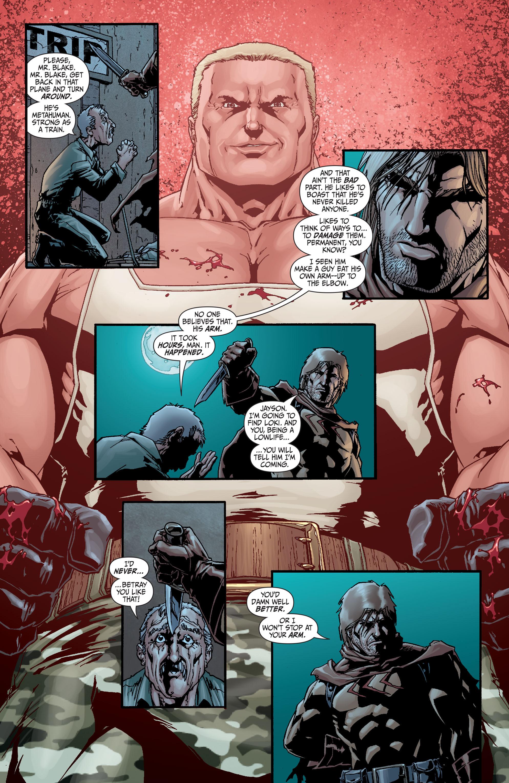 Read online Secret Six (2008) comic -  Issue #21 - 11