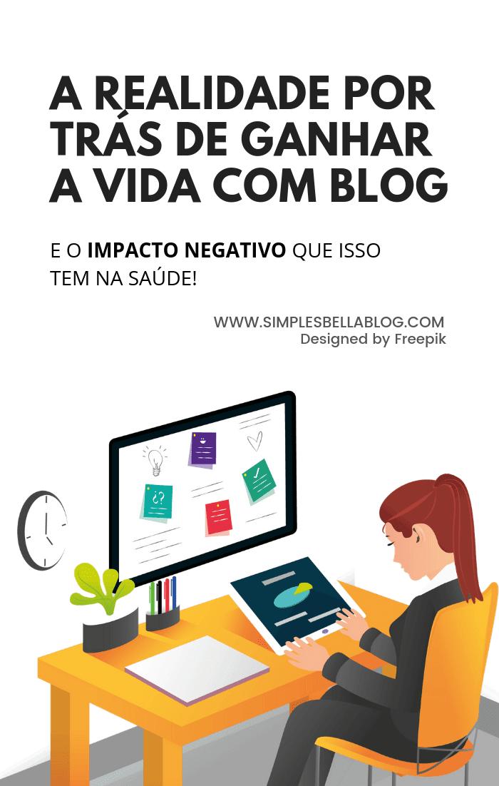 A realidade sobre viver de blog