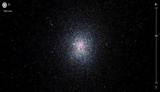 اكتشف أكثر من 100000 نجم مع منصة Google Star