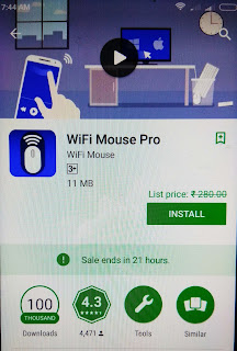 Wifi mouse pro paid android app download free