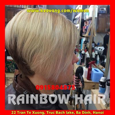 [RAINBOW HAIR COLOR] NHUỘM TÓC 7 SẮC CẦU VỒNG KIỂU TÂY TẠI VIỆT NAM