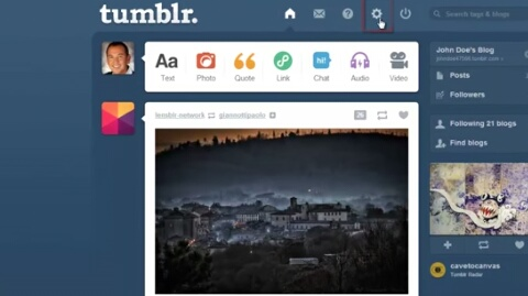 How To Link Tumblr To Your Twitter Account