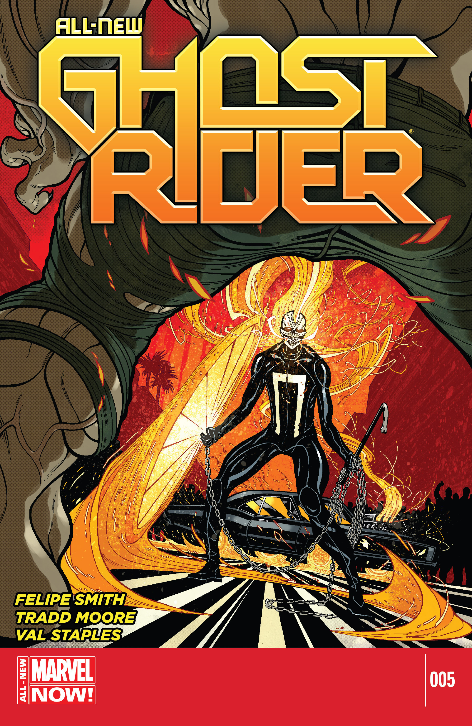 Read online All-New Ghost Rider comic -  Issue #5 - 1