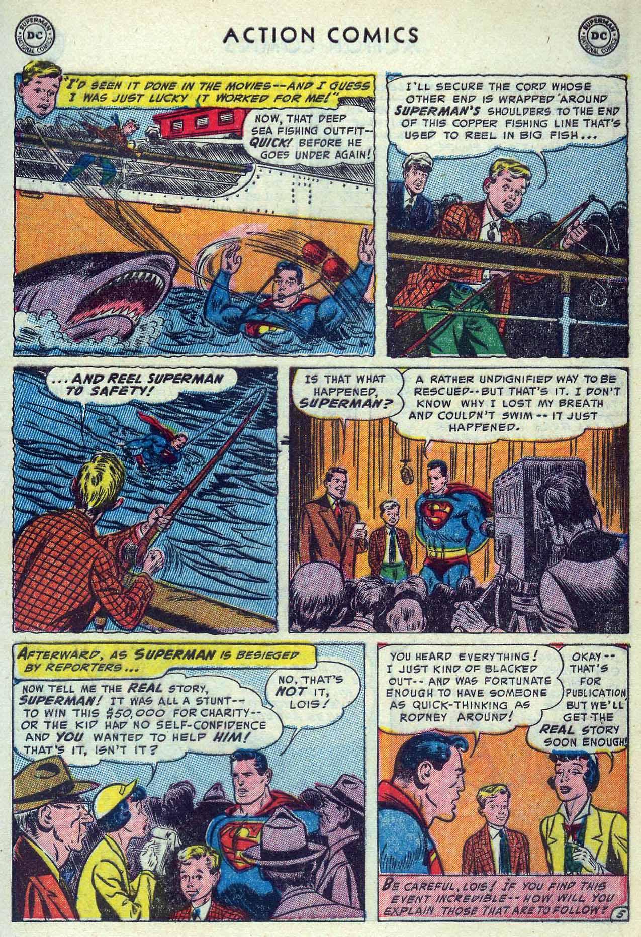 Action Comics (1938) 190 Page 6