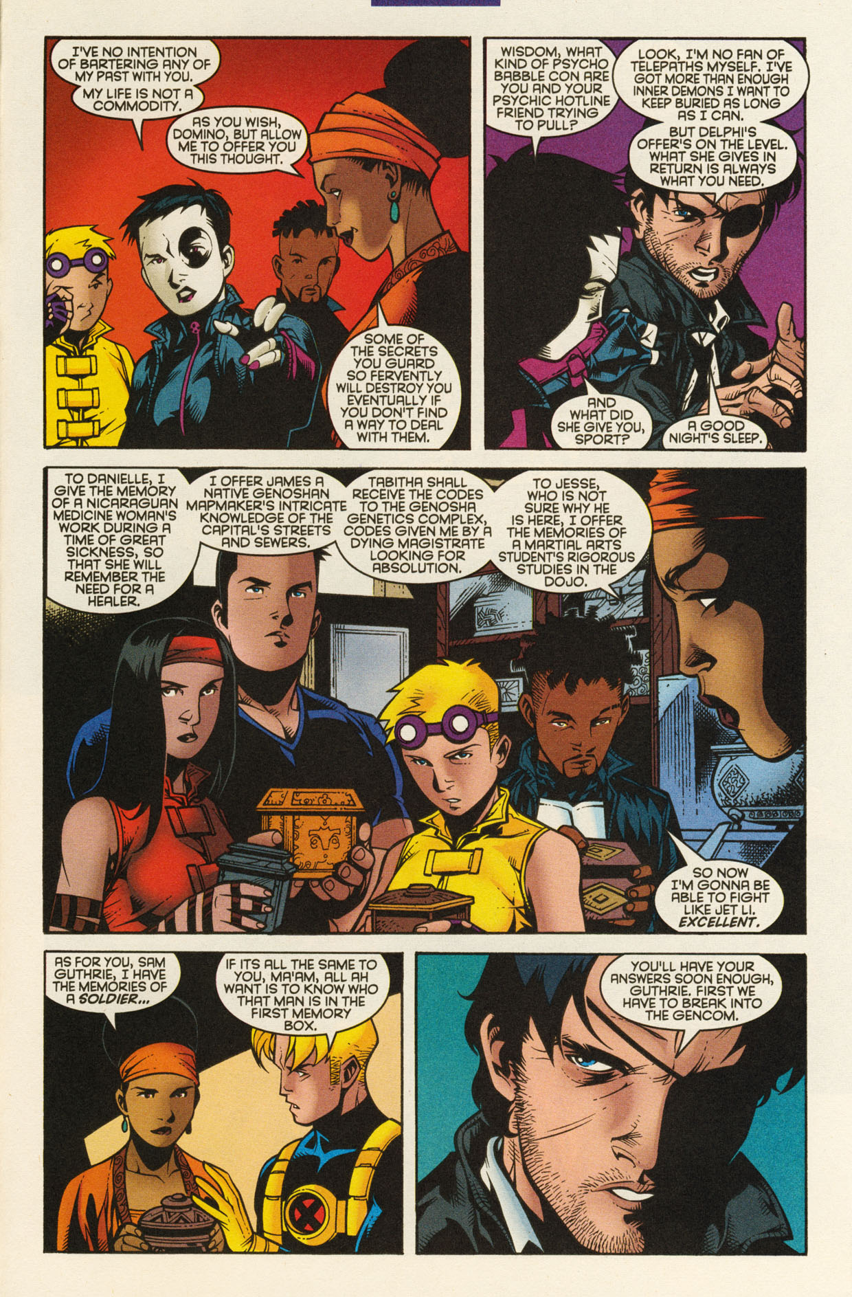 Read online X-Force (1991) comic -  Issue #94 - 25