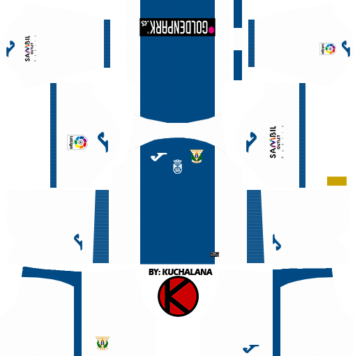 CD Leganes 2017/18 - Dream League Soccer Kits