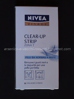 Nivea Clear-Up Strip zona T cerotti naso, fronte e mento