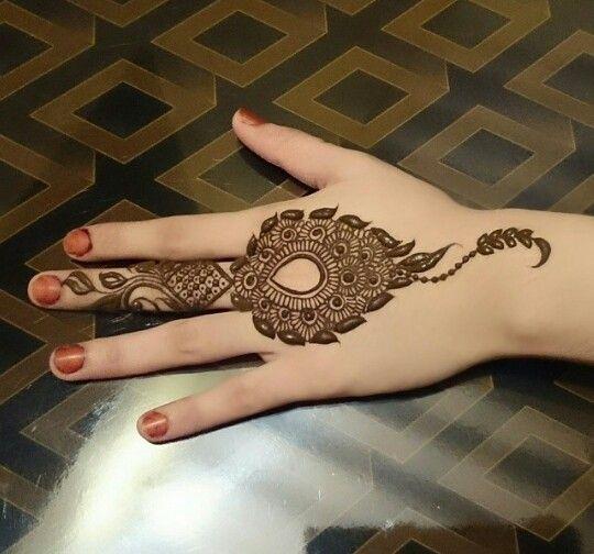 Mehndi Designs Back Side Simple : Stunning mehndi designs for eid bling sparkle