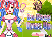 Ever After High Bo Peep dress Up
