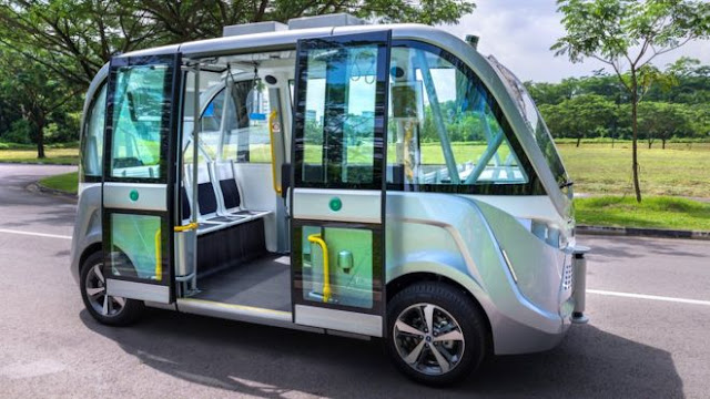Singapore to use driver-less buses 'from 2022'