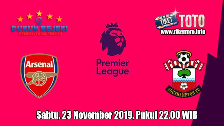 Prediksi Arsenal VS Southampton 23 November 2019