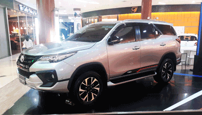 Toyota Fortuner Tipe Terbaru