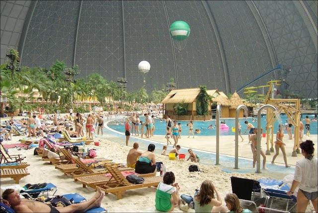 Isla Tropical Artificial en Alemania!