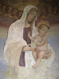 Immagine - Madonna con Bambino - Tabernacolo del Mercatale