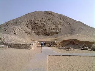 restos de piramide