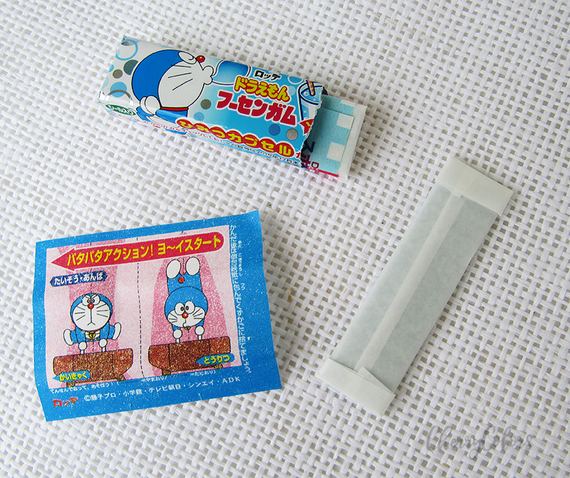 Doraemon Ramune Squash Soda Bubble Gum