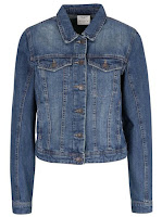 Jachetă Vero Moda Danger din material tip denim