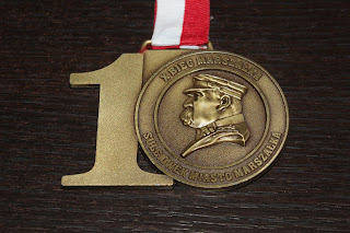 Medal X Bieg Marszałka 2017