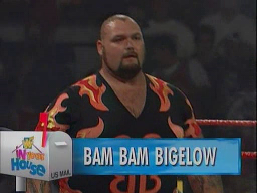 WWF / WWE - In Your House 2 - The Lumberjacks - Bam Bam Bigelow defeated Henry Godwin