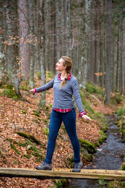 Auf vergessenen Wegen von Finsterau nach Buchwald  Wandern im Bayerischen Wald  Wanderung Nationalpark Bayerischer Wald 04