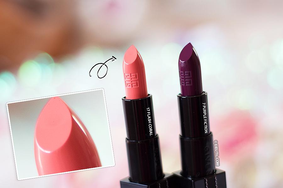 Batons Rouge Interdit (Purple Fiction | Flash Coral) - Givenchy