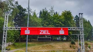 21. Drei Talsperren Marathon 2016 Eibenstock Erzgebirge Ziel