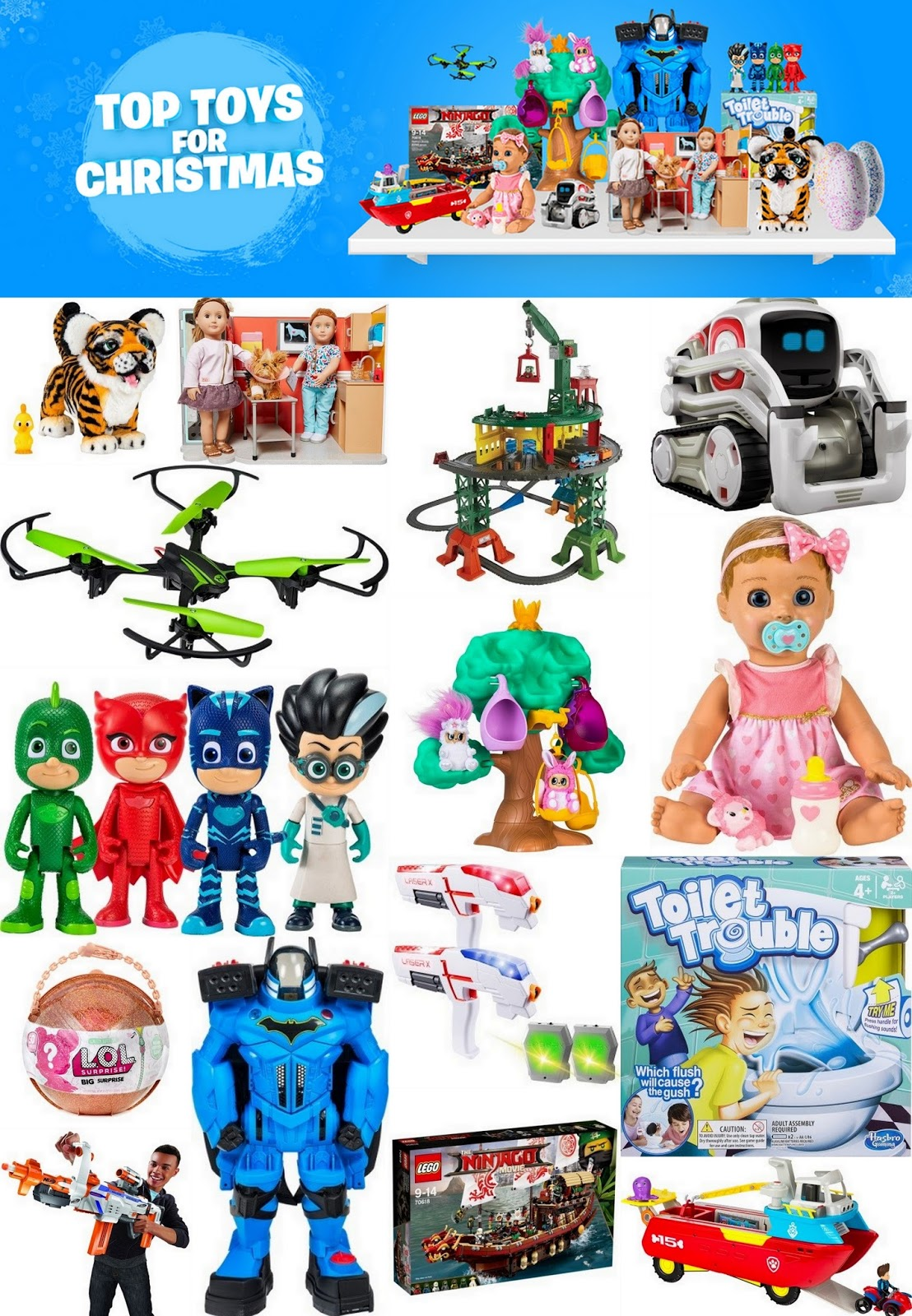 these are the toys predicted to sell incredibly well and judging by the number which are currently out of stock i think the public are already buying