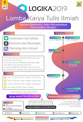 Call for Abstract LKTI LOGIKA UI 2019